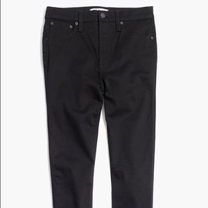 """Madewell 10"""" High-Rise Skinny Jeans in Carbondale"""